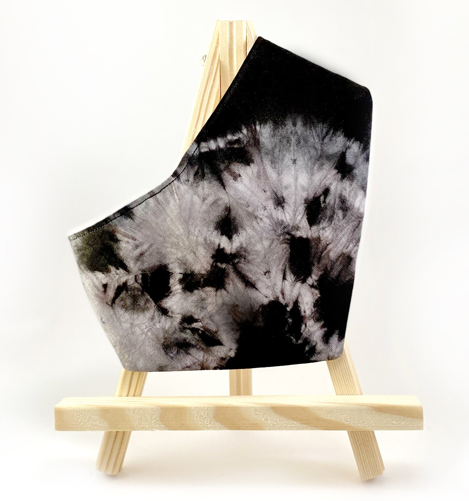 Bandanna for dogs or cats in tie dye material